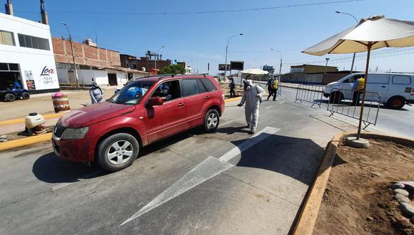 Comuna informa que mantendrá al distrito con medidas control de acceso para evitar contagios de COVID-19. (Foto: Municipalidad Punta Hermosa)