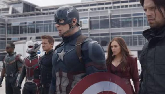 Capitán América: Civil War estrenó trailer en el Super Bowl