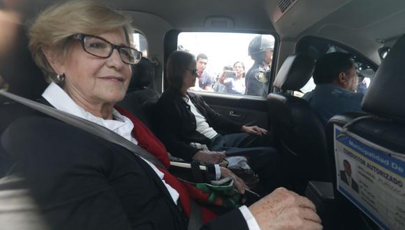 El tribunal dispuso la excarcelación de la exalcaldesa Susana Villarán por motivos humanitarios y ante el riesgo de que pueda ser contagiada por el coronavirus en el penal de Chorrillos (Foto: GEC)
