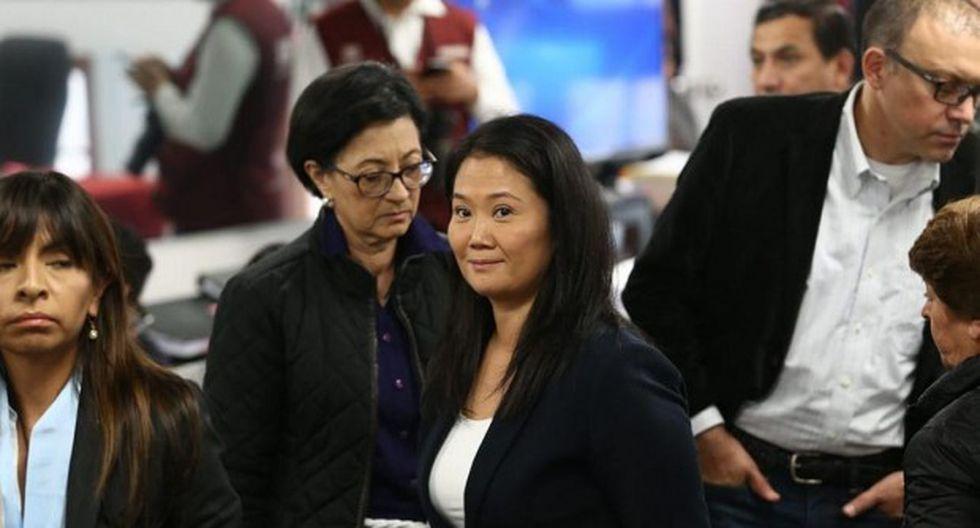 Keiko Fujimori y Ana Herz de Vega cumplen 36 meses de prisión preventiva en el Penal Anexo de Mujeres de Chorrillos. (Foto: Alessandro Currarino)