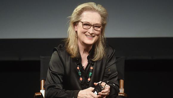 La próxima película de Meryl Streep se verá en la nueva plataforma HBO Max. (Foto: AFP)