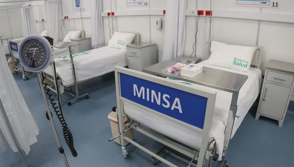 Apurímac: ponen a funcionar 50 camas en hospital temporal para pacientes COVID-19 (Foto: Pronis)