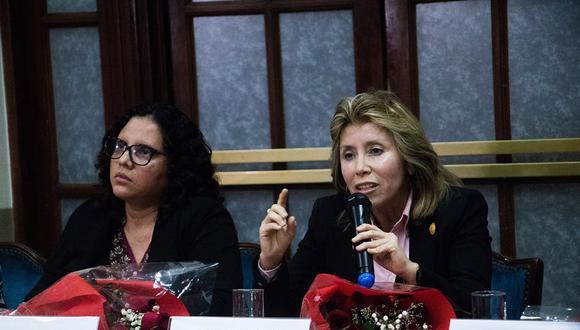 Las fiscales Rocío Sánchez y Sandra Castro fueron removidas del Equipo Especial del caso Los Cuellos Blancos del Puerto. (Foto: Difusión)