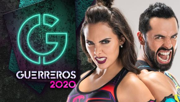 """""""Guerreros 2020"""" son 2 horas de juegos intensos, donde 20 participantes, divididos en dos equipos, hacen lo posible para superar los retos diarios (Foto: Televisa)"""
