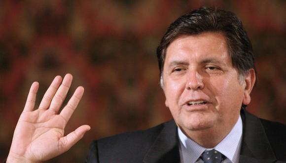 Alan García falleció en abril del 2019. (Foto: AFP)
