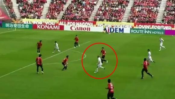 Andrés Iniesta y otra de sus geniales asistencias en Japón. (Video: Twitter @carrusel)