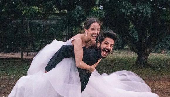 El intérprete de 'Tutu' y la hija de Ricardo Montaner unieron sus vidas en matrimonio, tras mantener una relación de más de 3 años (Foto: Evaluna/ Instagram)