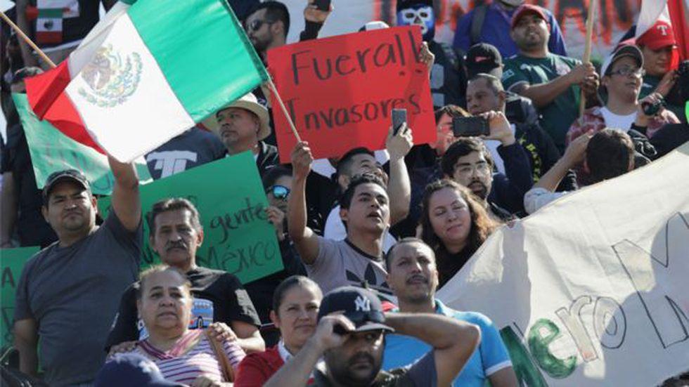 México vive una inusual ola antimigrante. Foto: Getty Images, via BBC