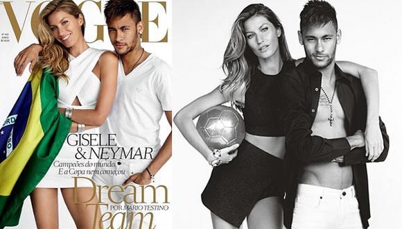 """Gisele Bündchen y Neymar, el """"dream team"""" de Mario Testino"""