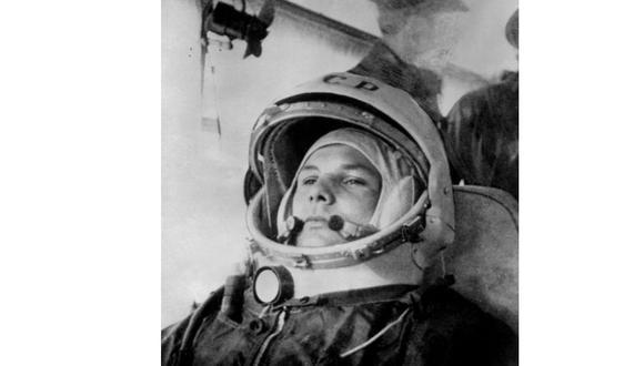 El 12 de abril de 1961, el soviético Yuri Gagarin, a bordo del Vostok-1, se convirtió en el primer hombre en el espacio. (Foto: AFP)