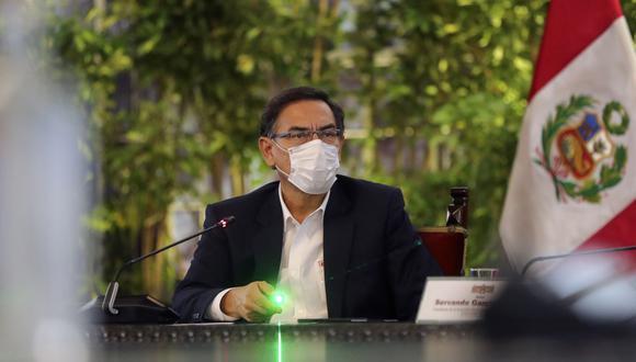 El mandatario ofrecerá un nuevo pronunciamiento en el marco del estado de emergencia por el nuevo coronavirus. (Foto: Presidencia del Perú)