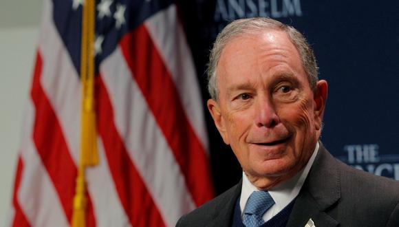 Michael Bloomberg, de 77 años y uno de los hombres más ricos del mundo, quiere ser presidente de Estados Unidos. (Foto: Reuters).