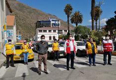 Taxistas formales de Abancay retomarán sus actividades bajo protocolos de bioseguridad