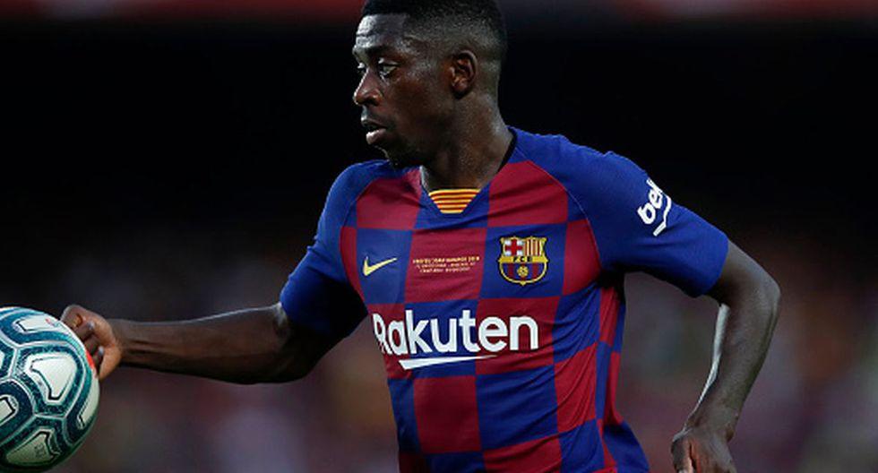 Jugador: Ousmane Dembélé | Valor: 75 millones de euros. (Agencias)