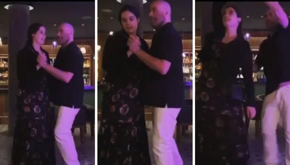 John Travolta señaló que una de las actividades de Kelly Preston era bailar con él. Por eso se animó a grabar el emotivo momento con su hija, Elle. (Instagram: johntravolta).
