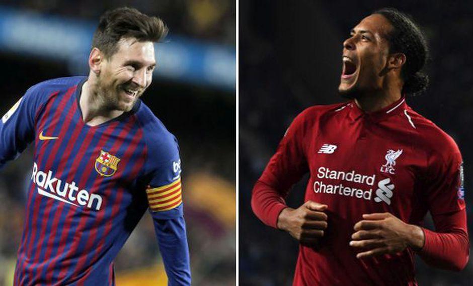 Messi intentará pasar al holandés en el Camp Nou. (Foto: AFP)