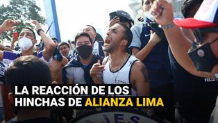 Alianza Lima: Disturbios en los exteriores del Estadio Nacional tras descenso del equipo blanquiazul
