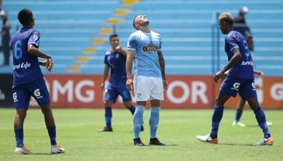 Emanuel Herrera lamenta la derrota de Sporting Cristal. (Foto: Jesús Saucedo / GEC)