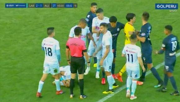 Pelea Alianza Lima | Video: Gol Perú