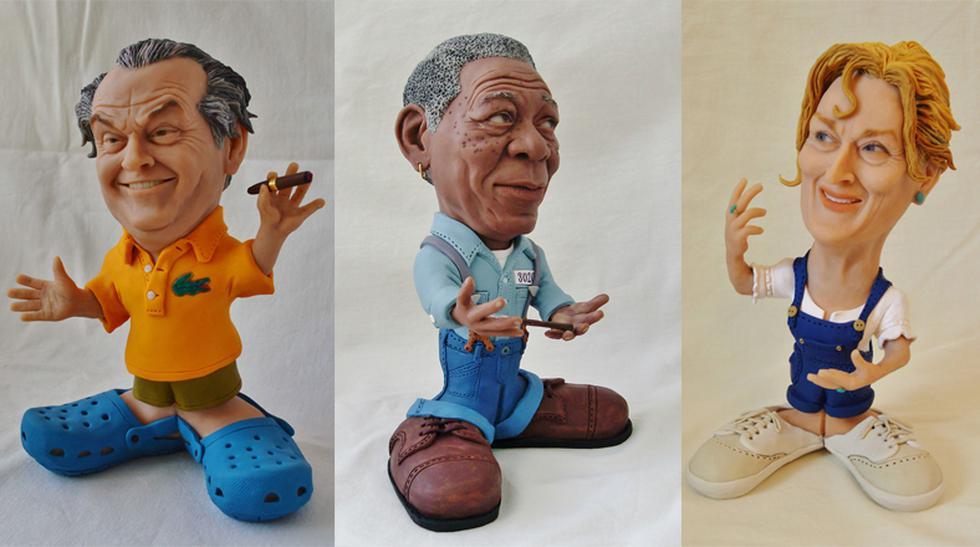 Mira estas graciosas y pequeñas esculturas de celebridades - 1