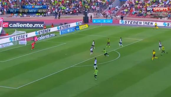 Tras una gran jugada individual de Mauro Fernández, el atacante paraguayo definió con mucha precisión y venció al golero Barovero. (Foto: captura de video)