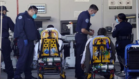 Coronavirus en Estados Unidos   Últimas noticias   Último minuto: reporte de infectados y muertos hoy, lunes 15 de marzo del 2021   Covid-19. (Foto: AP/Damian Dovarganes)