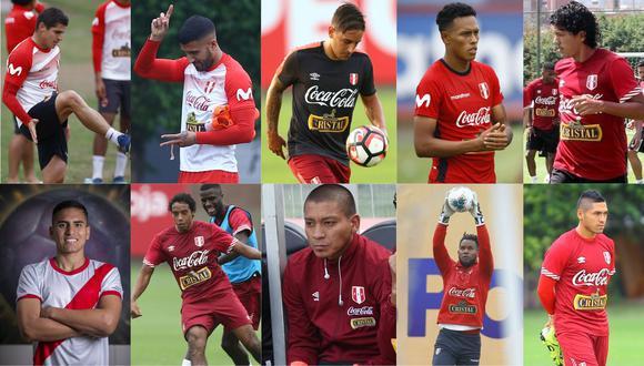 Ellos son algunos de los jugadores de la Liga 1 que estuvieron en la selección peruana (Fotos: GEC)