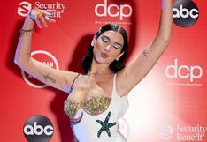 American Music Awards: Dua Lipa y el look que lució para la fiesta de la música
