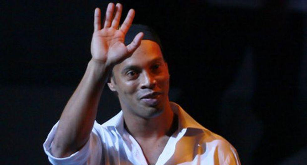 """Ronaldinho a su llegada a México: """"mi carrera necesitaba esto"""""""