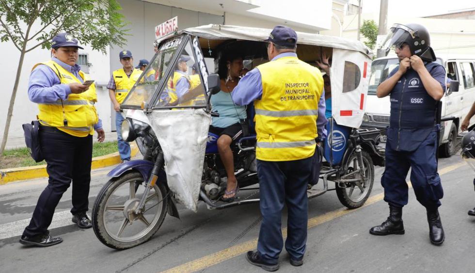 En el operativo se detectaron mototaxis en deficientes condiciones técnicas, sin Seguro Obligatorio de Accidentes de Tránsito (SOAT)  ni certificado de inspección vehicular, entre otras faltas. (Foto: Difusión)