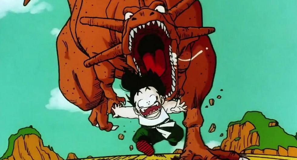 Captura del anime ´'Dragon Ball Z' . (YouTube)
