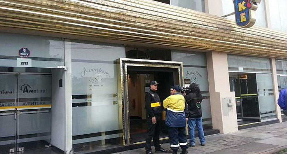 Lince: delincuentes asaltaron casino y se llevaron S/. 25 mil