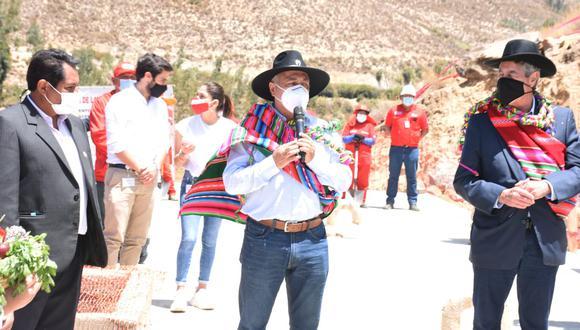 Tacna: El titular del MTPE exhortó a otros municipios y gobiernos regionales a generar proyectos para brindar trabajo a la población. (Foto: MTPE)