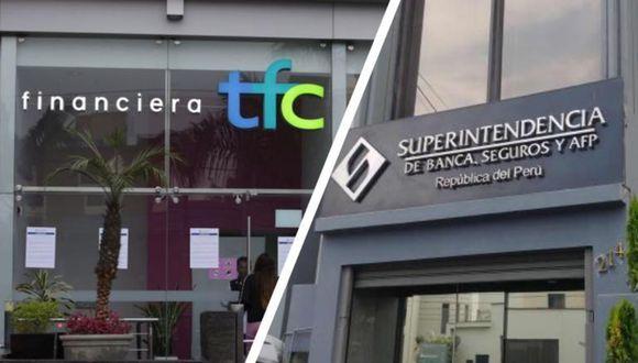 Financiera TFC fue intervenida por la SBS el 11 de diciembre del 2019. (Foto: Difusión/GEC)