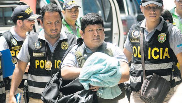 Magistrado Luis Jara habría dirigido organización hace más de un año. Ayer fue detenido en Ucayali. (Foto: Hugo Enrique Alejos)