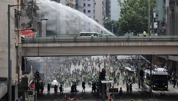 Más de 9.000 personas fueron detenidas a raíz del inicio en junio de 2019 de un movimiento de protestas. (Foto referencial/Archivo/EFE/EPA/JEROME FAVRE)