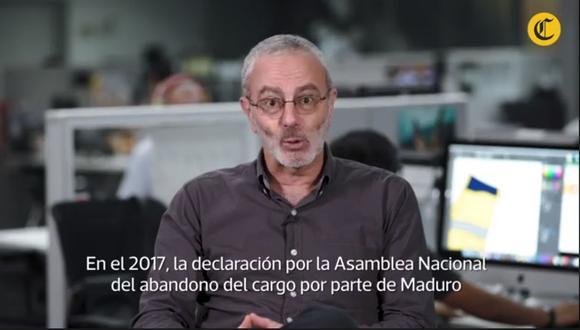 ¿Está cerca la salida de Maduro del poder?, Farid Kahhat responde en su videocolumna.