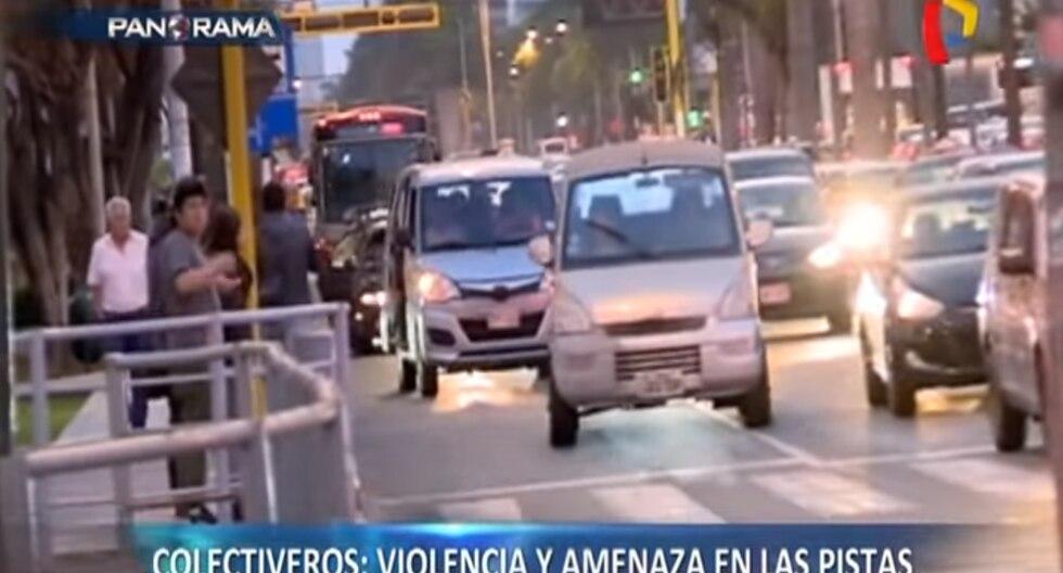 A través de un top 5, el dominical dio a conocer los tipos de 'colectiveros' que existen en las calles y su forma de proceder ante las autoridades. (Panorama)