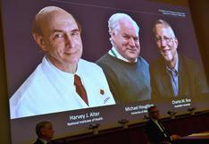 """Nuevos Nobel de Medicina dicen que se requiere """"voluntad política"""" para frenar el coronavirus"""