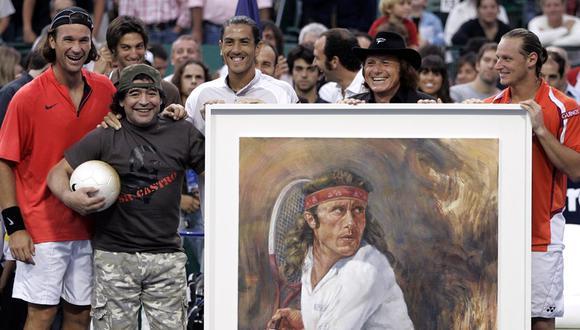 Vilas triunfó en el Torneo de Roland Garros 1977, en el Abierto de Estados Unidos 1977, el Abierto de Australia 1978, y el Abierto de Australia 1979. (Foto: AFP)
