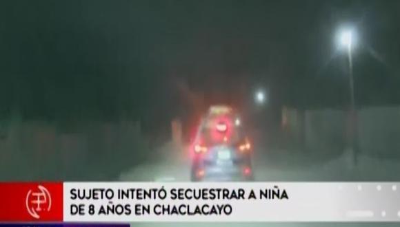 """Hecho ocurrió en el asentamiento humano """"El Vallecito"""". (Foto: Captura América Noticias)"""