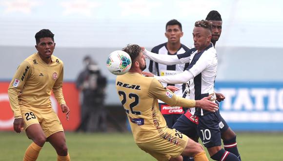 Alianza Lima suma 13 puntos en la Liga 1 de este año. (Foto: Liga de Fútbol Profesional)