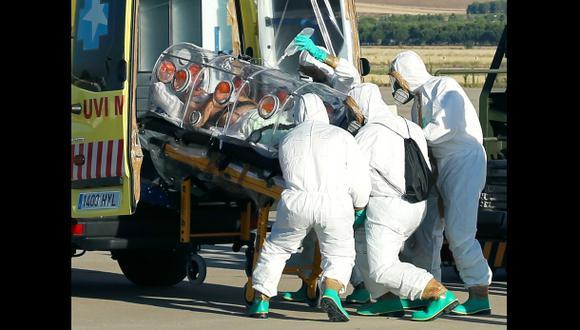 El primer europeo portador del temido ébola ya está en España