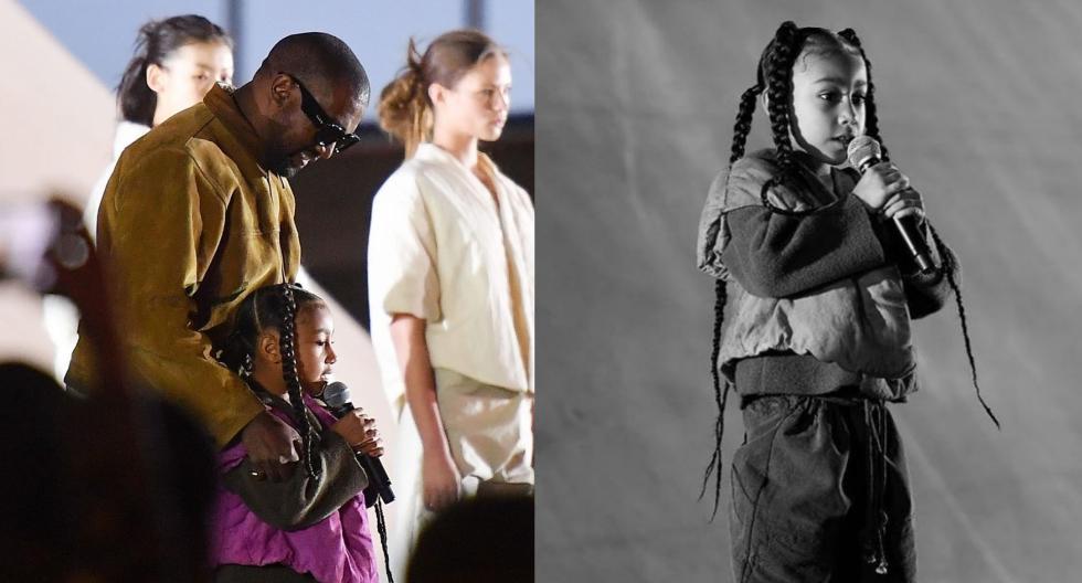 La pequeña North West hizo su debut en el desfile de Yeezy, la marca de su papá, el rapero y diseñador Kanye West. Recorre la galería para conocer más detalles. (Foto: @prvnceuk)