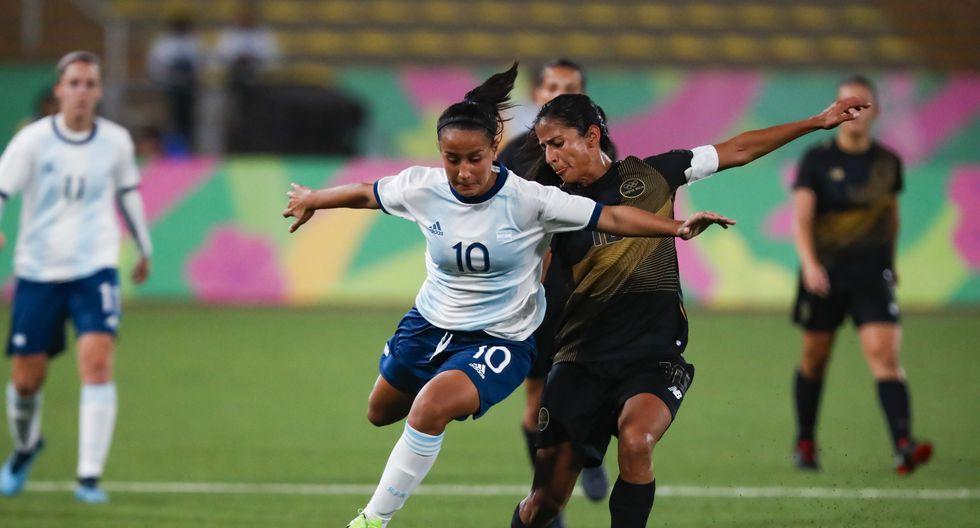 Argentina vs. Paraguay EN VIVO: ambas selecciones están invictas en el fútbol femenino de los Juegos Panamericanos. (Foto: Vidal Tarqui / Lima 2019)