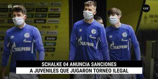 Schalke 04 anuncia sanciones a juveniles que jugaron torneo ilegal