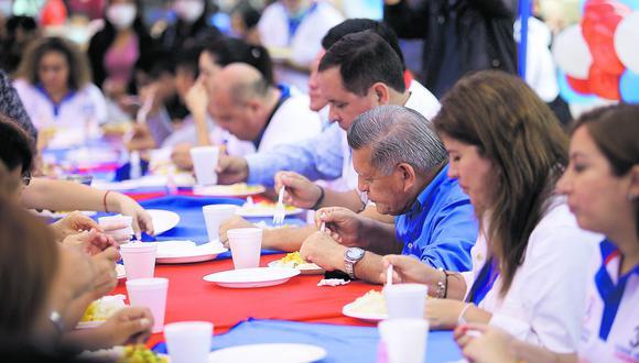 En enero, APP organizó un desayuno sin medidas sanitarias. Más partidos tuvieron conductas similares. (Foto: Britanie Arroyo / Archivo)