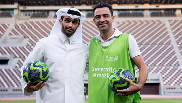 Xavi se encuentra cerrando su carrera deportiva en Qatar. (Foto: AP)