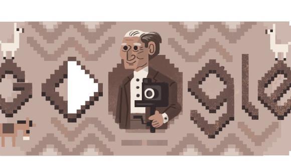 Google celebra con un doodle a Martín Chambi, el fotógrafo peruano más ilustre del mundo. (Foto; Google).
