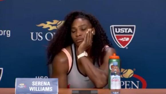 Serena Williams y su honesta respuesta a un periodista